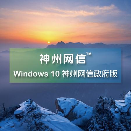 Windows 10 神州网信政府版两年服务